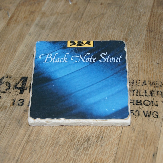 UPcycled Coaster - Bells Brewery - Black Note Stout