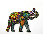 Psychedelic Elephant -  I...