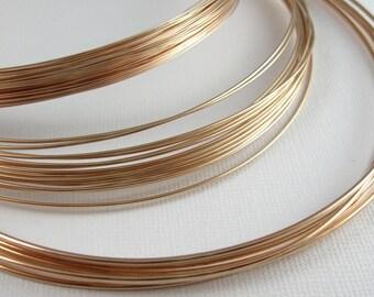 Bronze Wire for Jewelry 20 Gauge Round Soft 20 Feet