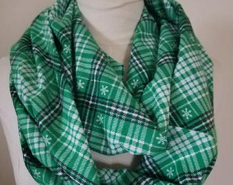 Flannel Infinity Scarf!