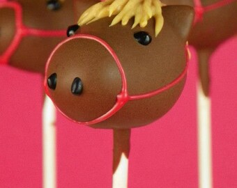 Horse Cake Pops