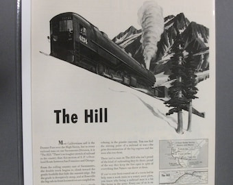 Train  #101   South Pacific     Magazine Ad - May 1943