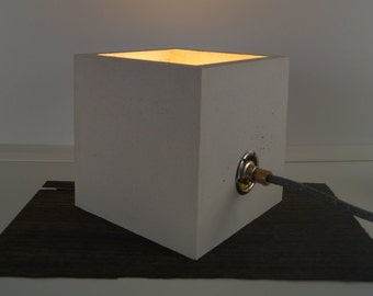 Concrete table Light | Concrete Lamp
