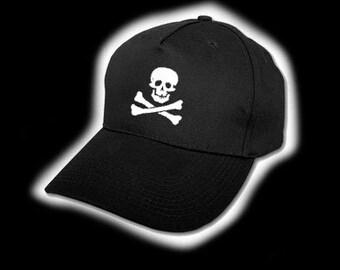 Skull and Crossbone Pirate Baseball Cap