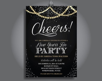 new years eve party invitation new years