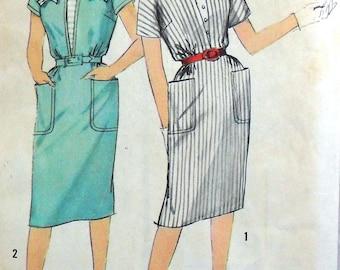 Simplicity 4428 dress, bust 32