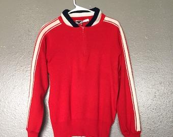 Vintage Obermeyer Tuck style sweater!