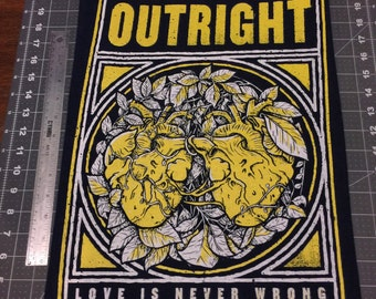 Outright back patch