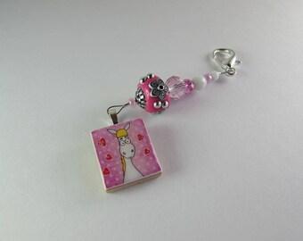 Whimsical Horse Scissor Fob / Fun Scissor Fob / Scissor Bling / Scissor Jewelry / Scissor Accessory / Gift for Stitcher / Designs by Lisa