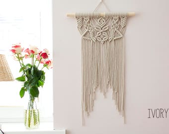 Macrame Wall Hanging, Woven Wall Hanging, Woven Wall Tapestry, Macrame Wall Art, Nursery Wall Art, Wall Tapestry, Nursery Decor