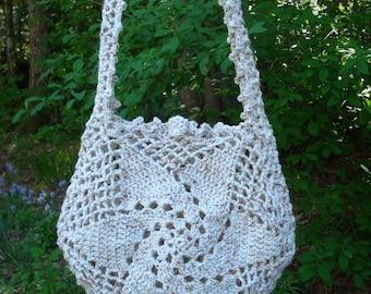 Whirligig Tote Bag - PA-202 - Crochet Pattern PDF