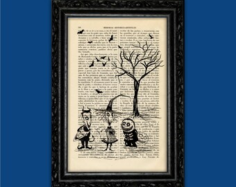 Children Nightmare Before Christmas Tim Burton Halloween Jack Poster Book Art Dorm Room Print Gift Print Wall Decor Poster Art (Nº3)
