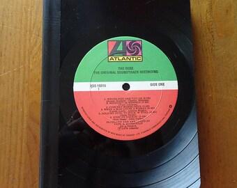 "Vinyl Record Bound Notebook - Bette Midler ""The Rose"" Soundtrack"