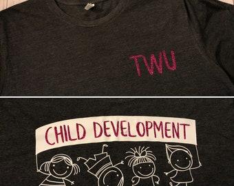TWU Child Development TShirt