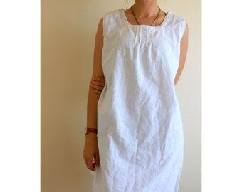 Crisp White Nightgown / Slip