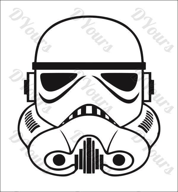 stormtrooper star wars vector model svg cdr ai pdf eps files rh etsy com stormtrooper vector art stormtrooper vector free download