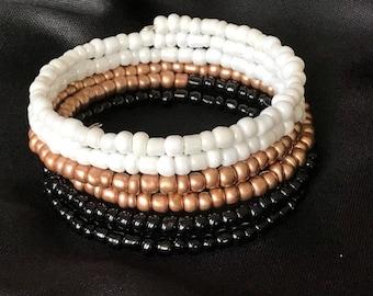 Summer Bracelet, Bohemian Bracelet, Ombre Bracelet