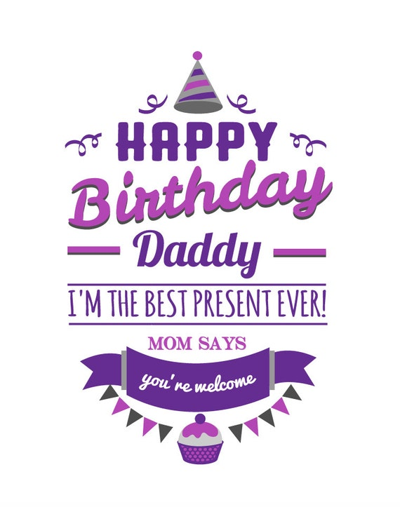 happy birthday daddybirthday presentinfant clothingbodysuitinfant romperbaby leotardhappy birthday romperbaby creeperinfant shirt