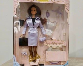 1991 Barbie Millicent Roberts Collection, Perfectly Suited Barbie, New in Box, 17567