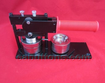 "1-3/4"" inch Button Maker Machine Press and 20 Button Parts"