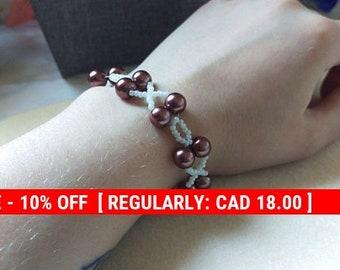 Bronze color X & O's Bracelet