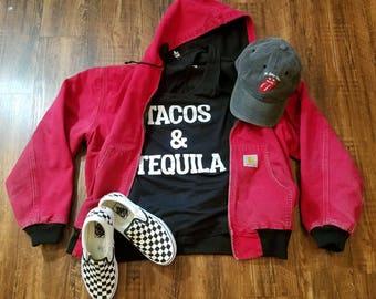 Red Carhartt Jacket