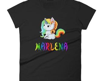 Marlena Unicorn Ladies T-Shirt