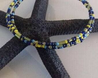 Gipsy Bohochic Handmade multicolor beads Bracelet
