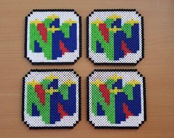 Nintendo 64 Coasters - Set of 4