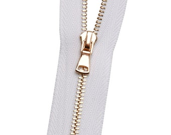 Metal No. 3 Zipper - Rose Gold