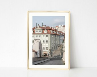 Living Room Decor // Prague // Prints Wall Art // Large Wall Art // Travel Art Prints // Gallery Wall Print // Europe