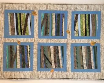 Views - Birch Leaves