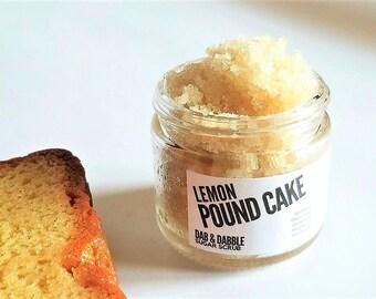 Sugar Scrub| Body Scrub |  Lemon Pound Cake Scrub | Body Polish | Exfoliating Scrub