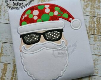 Hip Santa applique