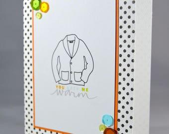 Warm Sweater Love Card