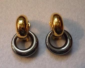 """Earrings. """"Agatha"""" France. Vintage."""