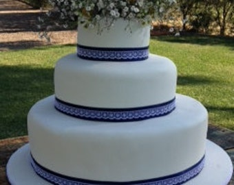 Wedding cakes made to order!