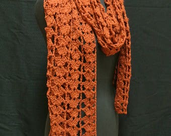 Crocheted Lacy Wrap