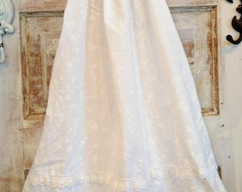 Boho Flower Girl Dress   White Flower Girl Dress   Photo Shoot Dress   First Birthday Dress   Ellie Ann and Lucy