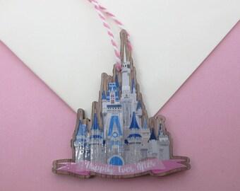 Floridian Castle Wooden Decoration