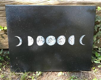 Lunar Phase painting