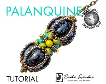 Palanquine beaded bead -