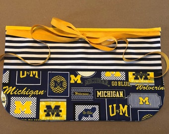 Michigan Wolverines Teacher Apron