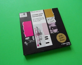 Chamber Music Masterpieces 4 Track Tape Reel to Reel TMS-125