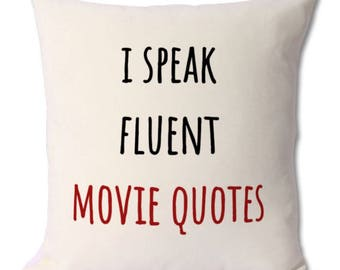 movie buff funny gift, movie lover gift, movie buff gift, movie watcher, gift for, movie addict, movie quotes, movie fan, movie goer