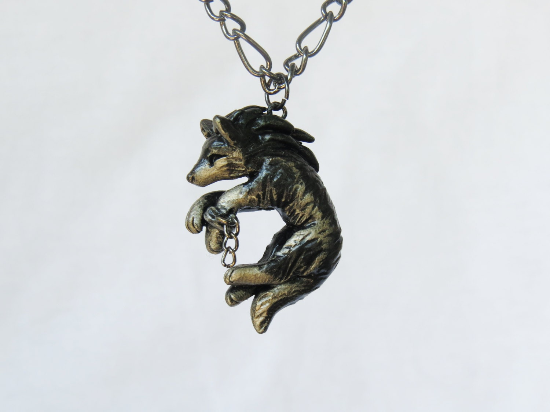 Zelda wolf necklace legend of zelda twilight princess zoom aloadofball Choice Image