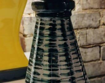 MOD 1950s 1960s Fluted Vase