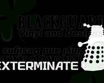 Exterminate Decal