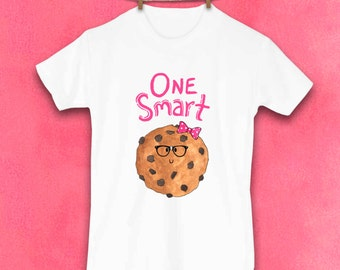 Smart Cookie, Cookie Shirt, Kids shirts, Cute Toddler Tshirt, Unique Clothes, Kids Clothes, Gifts for kids, Chocolate Chip