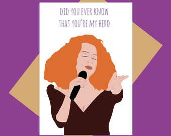 Bette Midler - Did you ever know that you're my hero - mother's day - friendship